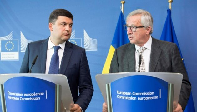 Гройсман у п'ятницю обговорить з Юнкером план дій на 2017 рік