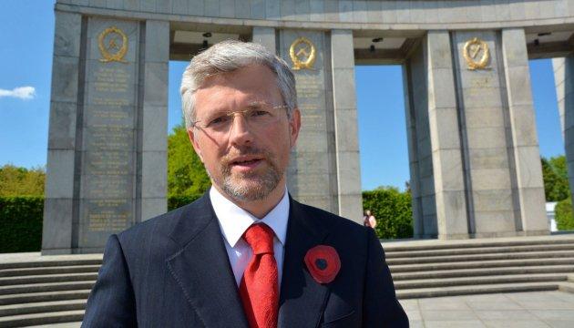 Ambassador Melnyk: Germany will support Ukrainian transit in Europe
