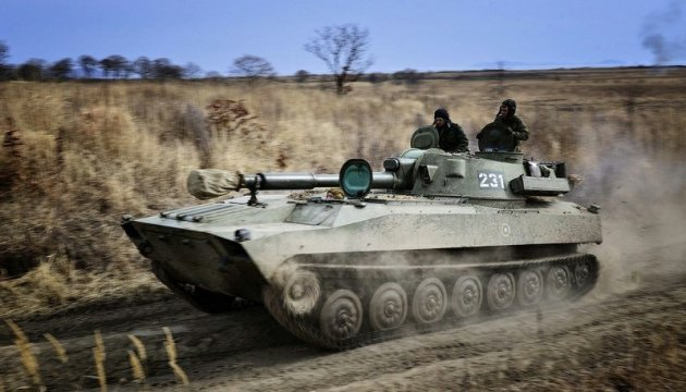 Russland liefert erneut Panzer, Munition und Kraftstoff in den Donbass