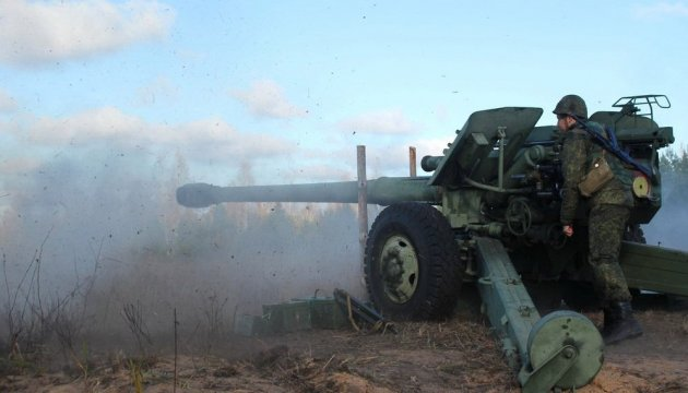 Militants launched 69 attacks on Ukrainian troops in Donbas in last day