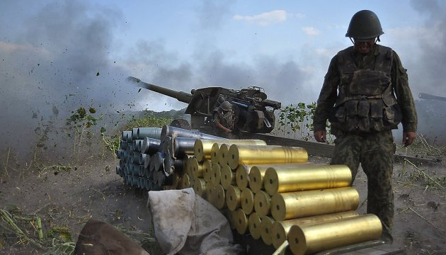 Militants launch 54 attacks on ATO troops in eastern Ukraine
