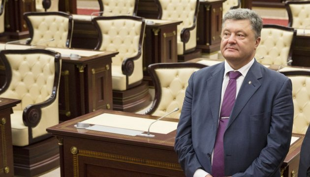 Poroshenko invites Ukrainians to attend Independence Day military parade