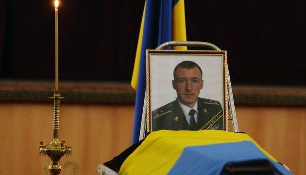 З бійцем АТО Павлом Пивоваренком попрощалися в Києві
