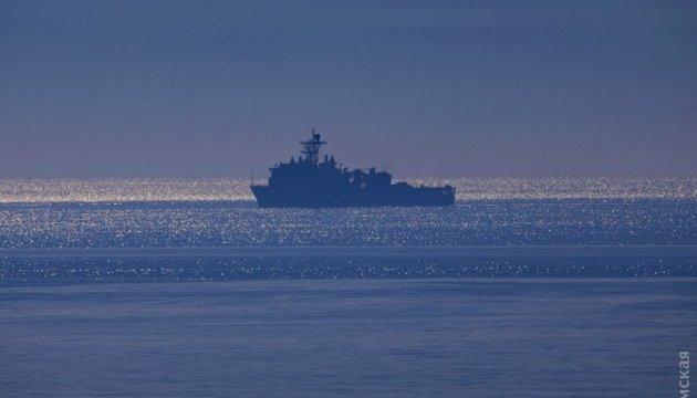 Си Бриз-2016: в Одессу прибыли два боевых корабля ВМС США