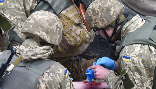 Two Ukrainian servicemen killed, eight wounded in Donbas