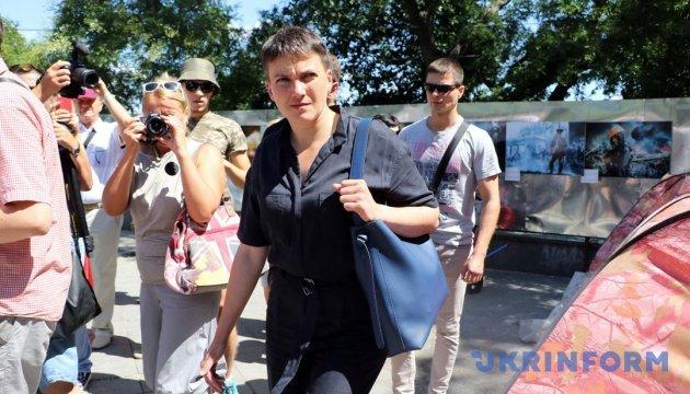 Савченко пояснила свої слова щодо прощення у матерів загиблих бойовиків