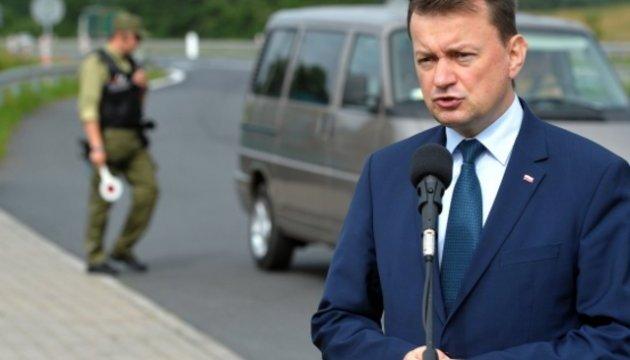 Польща не вбачає військових загроз із боку Білорусі, але готується до різних сценаріїв