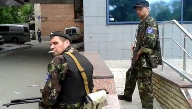 В Луганске подорвали памятник террористам