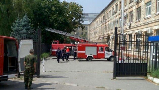 Пожежники назвали ймовірну причину загорання суду в Харкові