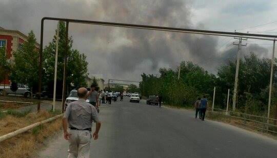 В Азербайджані авто з журналістами підірвалося на міні, є загиблі