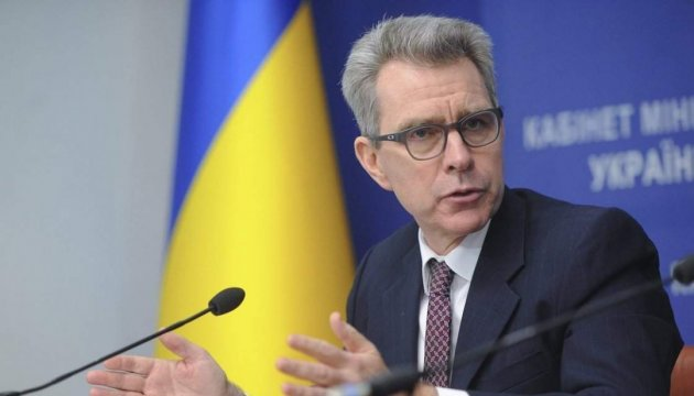 U.S. Ambassador Pyatt: No business as usual with Russia until aggression in Ukraine ongoing
