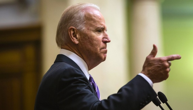 Joint statement by Biden and Poroshenko: Sanctions against Russia must stay until Minsk agreements fully implemented