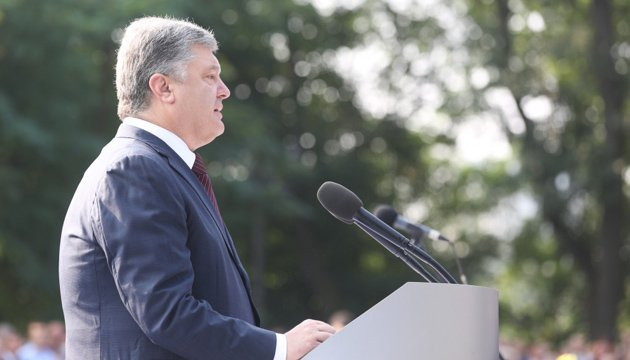 President Poroshenko: we will not just be mere observers when another country uses feelings of Ukrainian Orthodox believers in its own interests