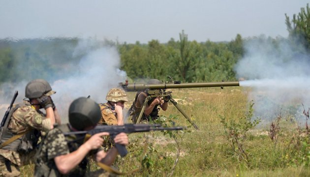 Two Ukrainian soldiers wounded, one injured in ATO area in last day