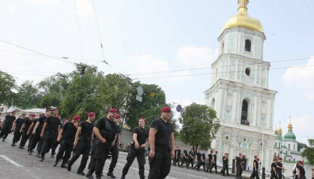 Поліція Києва сподівається завтра