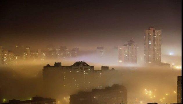 У столиці перевищено рівень забруднення повітря