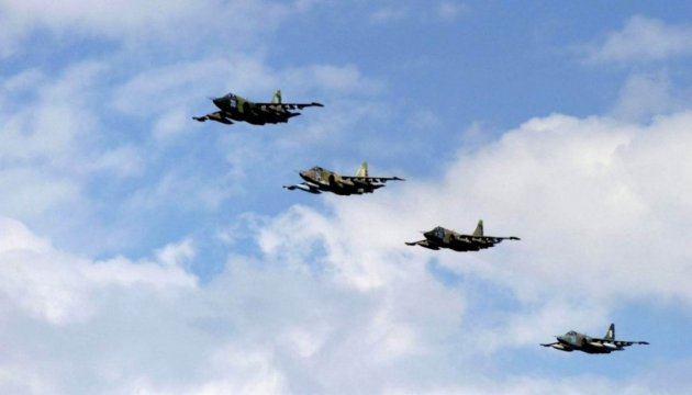Ukrainian Air Force aircraft participate in international air show in Bucharest