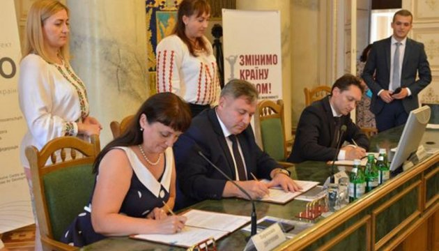 Lviv and Luhansk regions sign agreement on cooperation