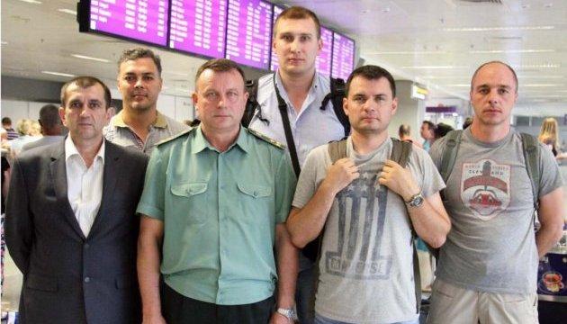 З Талліна повернулися резервісти ЗСУ, які пройшли поглиблений курс іноземних мов