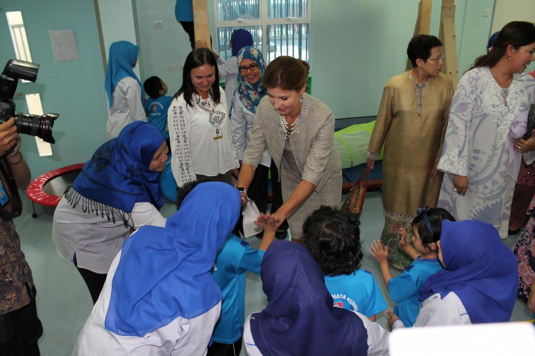 Марина Порошенко в Малайзии фото: пресс-служба Президента