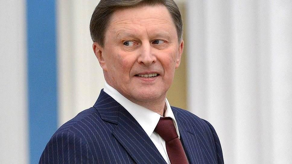 На фото: Сергій Іванов - колишній глава Адміністрації президента РФ