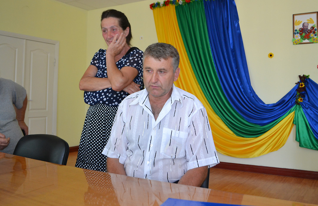 Батько затриманого Миколи Хоменка
