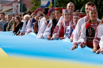 Ucrania celebra el 26º aniversario del Referéndum de independencia