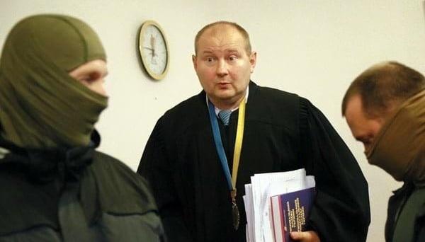 Суд постановил взять Чауса под стражу