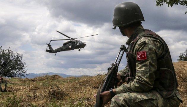 ЗС Туреччини за тиждень провели 230 антитерористичних операцій