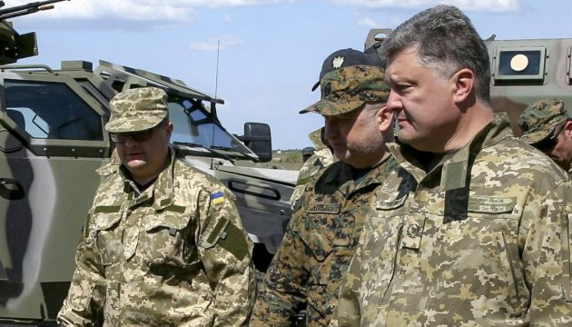 Poroshenko, Turchynov intend to visit Donbas in near future