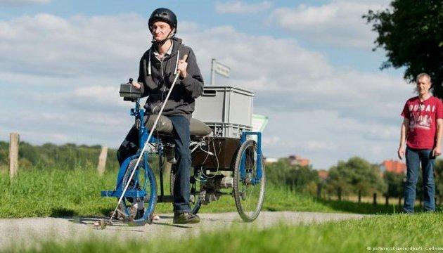 У Німеччині винайшли велосипед для сліпих