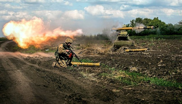 Militants launch 52 attacks on Ukrainian troops in Donbas in last day
