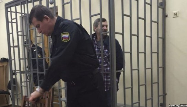 Вокупованому Криму затримали 76-річного пікетувальника зхворобою Паркінсона