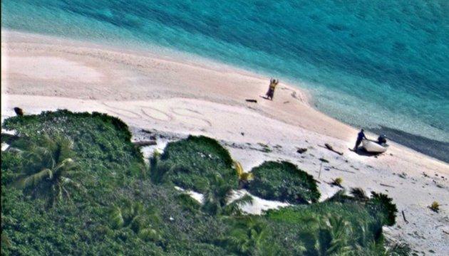 Пропавших моряков нашли спустя неделю по надписи SOS на песке