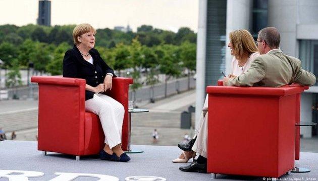 Меркель не хоче бачити