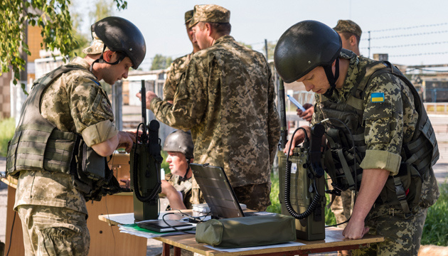 Турчинов: Військовий зв'язок сьогодні - високотехнологічна основа ЗСУ