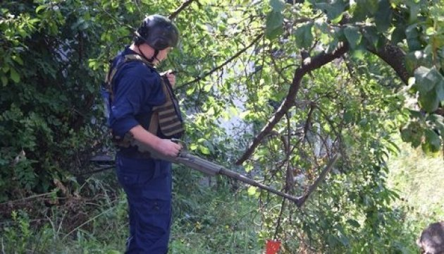 State Emergency Service: 504 explosive devices disposed in Luhansk region over last week
