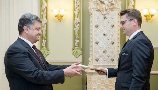 Rumänischer Botschafter zu Besuch in Mukatschewo