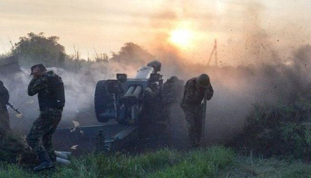 Militants launch 75 attacks on ATO troops in eastern Ukraine