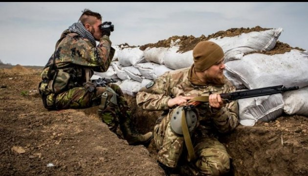 Militants launch 25 attacks on Ukrainian troops in last day