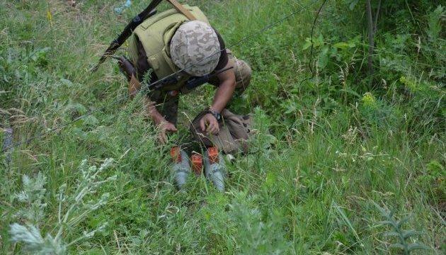 Сапери за тиждень знешкодили понад 200 мін у зоні АТО