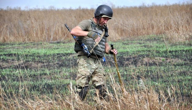 Over 165,000 explosive devices disposed in Donbas since ATO start