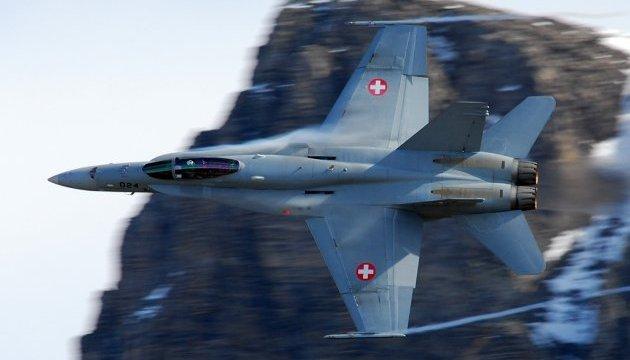 В Альпах нашли пропавший истребитель ВВС Швейцарии