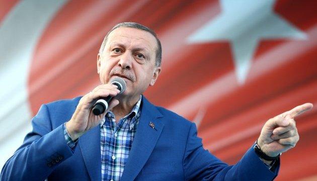 Ердоган вважає Туреччину «господинею в Європі»