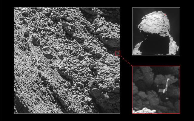 Фото: ESA/Rosetta/MPS for OSIRIS Team