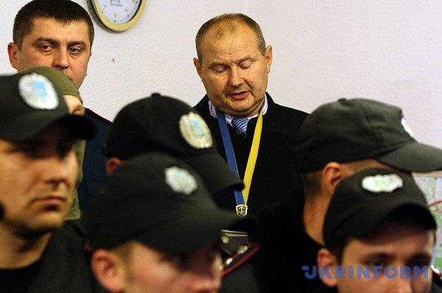 На фото: суддя Дніпровського райсуду Києва Микола Чаус, який погорів на хабарі у $150 тисяч