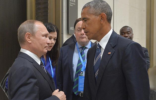 Путін, Обама / Фото: AFP