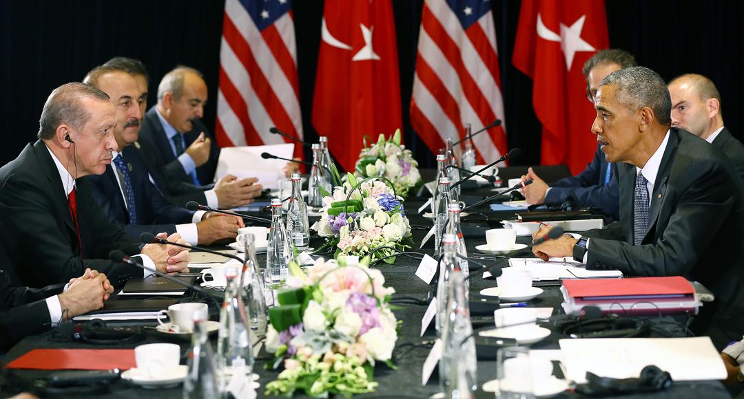 Эрдоган, Обама / Фото: АА
