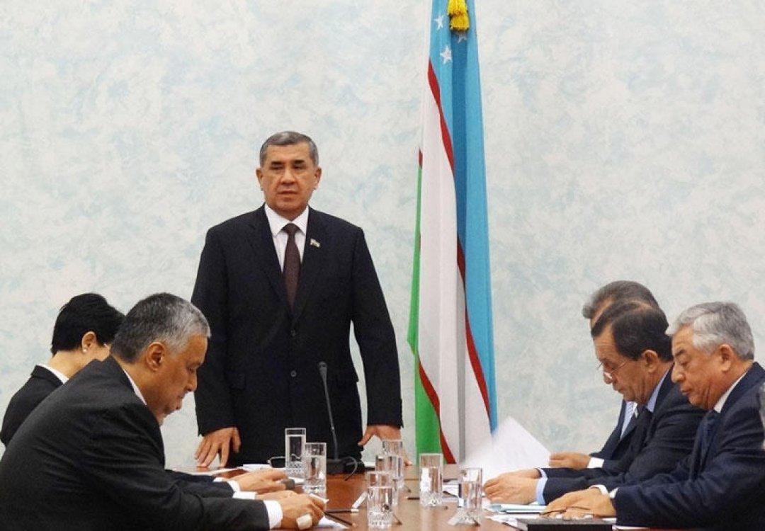 На фото: голова Сенату Олій Мажліса Нігматілл Юлдашев