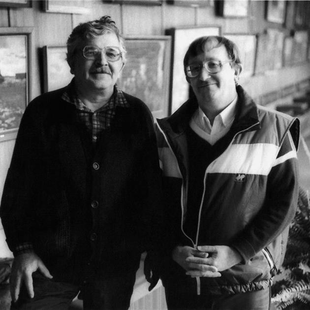 Аркадий и Борис Стругацкие